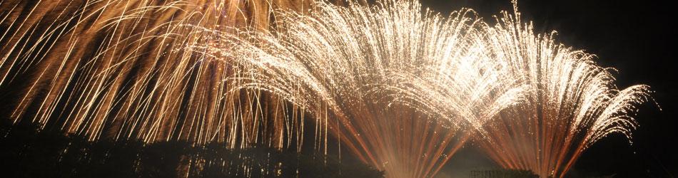 照片:Numata烟火大会(用外联线、新的橱窗开)