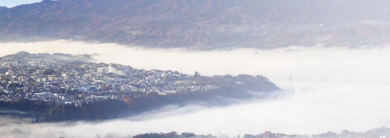 照片:云海和Numata高处